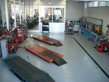 YSP八王子サービス工場の写真